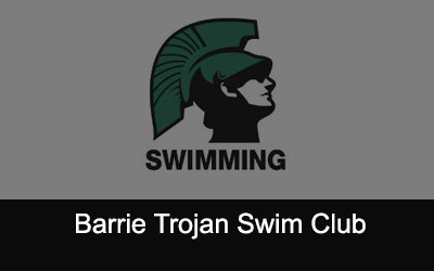 Barrie Trojan Swim Club Logo