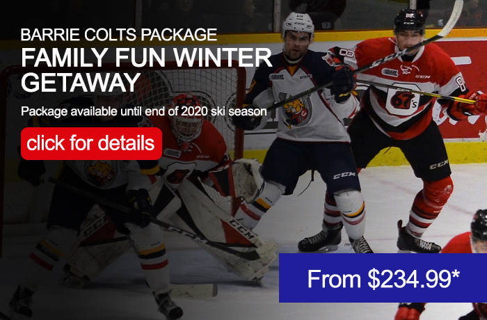 Barrie Colts Getaway Package
