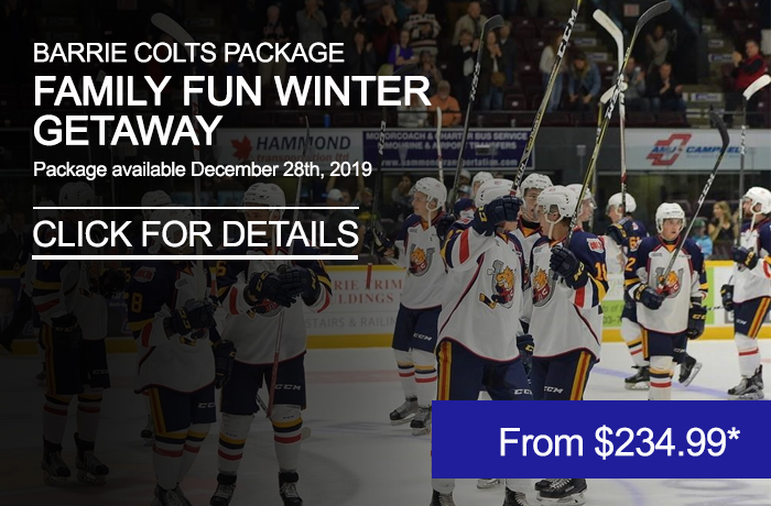 colts hockey team on ice - package