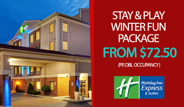 Holiday Inn Express Stay and Play Package